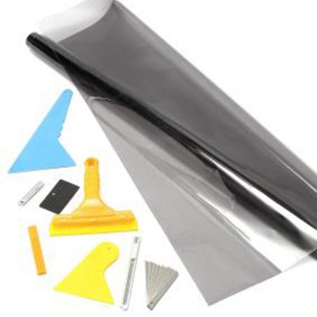 Accessori e Spatole Professionali per Pellicole Oscuramento Vetri Pre-tagliate